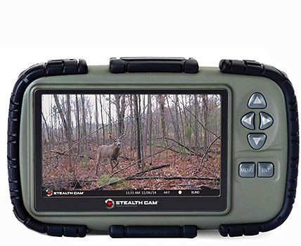 "Stealth Cam SD Card Reader and Viewer with 4.3"" LCD"