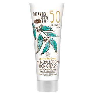 Australian Gold Botanical Face Sunscreen SPF 50