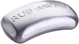 Amco Rub-a-way Staineless Steel Odor Absorber