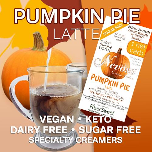 Pumpkin Pie Latte VEGAN KETO