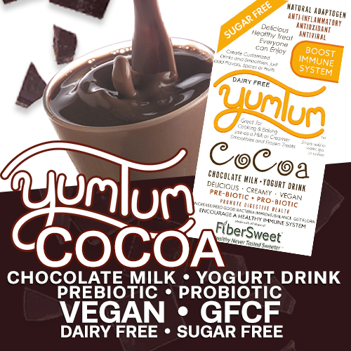 YUMTUM CoCoa - Chocolate Milk / Yogurt Drink | Delicious Hot or Cold