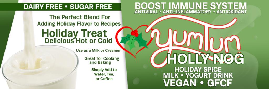 Holly Nog - Holiday Spice Milk / Yogurt Drink