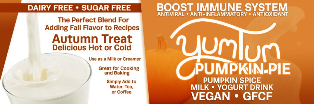 Pumpkin Pie - Pumpkin Spice Milk / Yogurt Drink