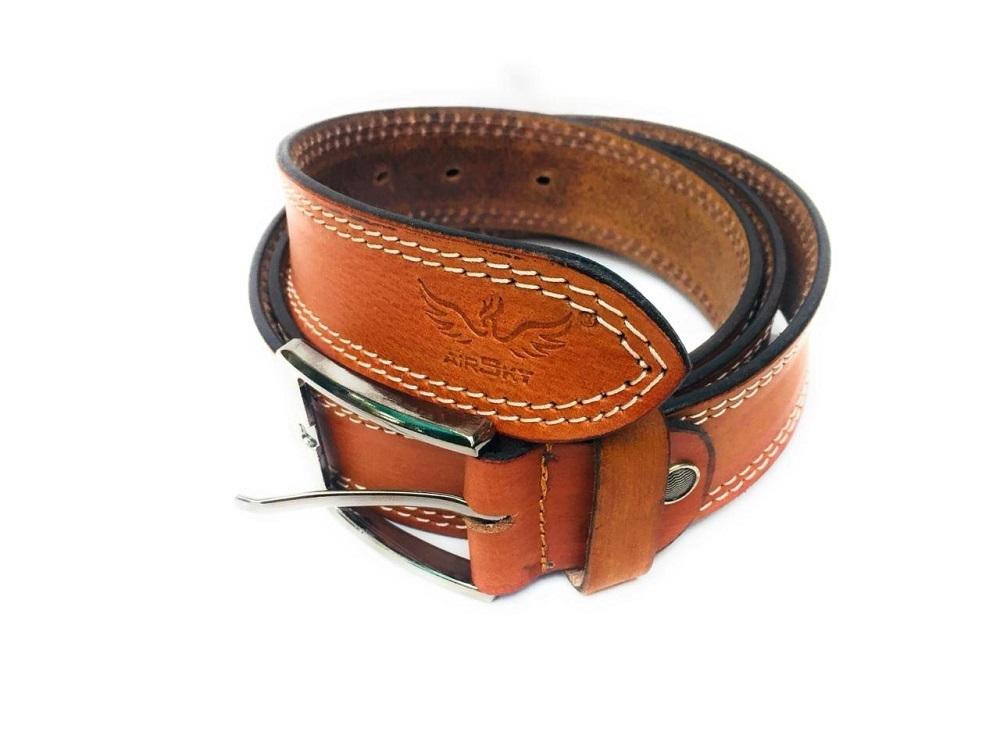 Tan Leather Belt