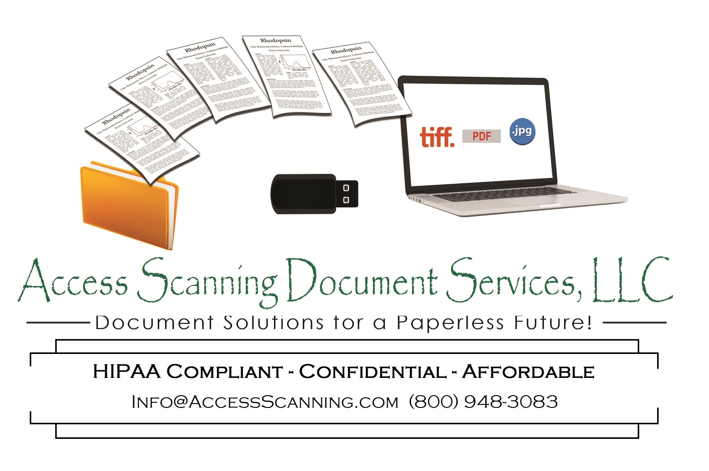 Document Scanning Services Los Angeles California