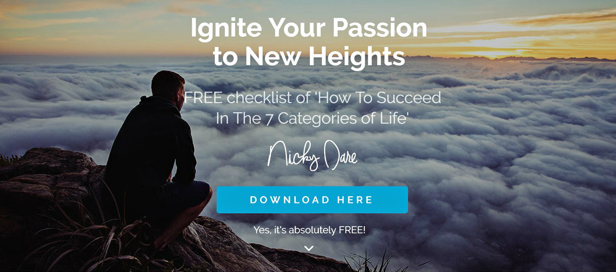 FREE Checklist | How To Succeed In The 7 Categories Of Life