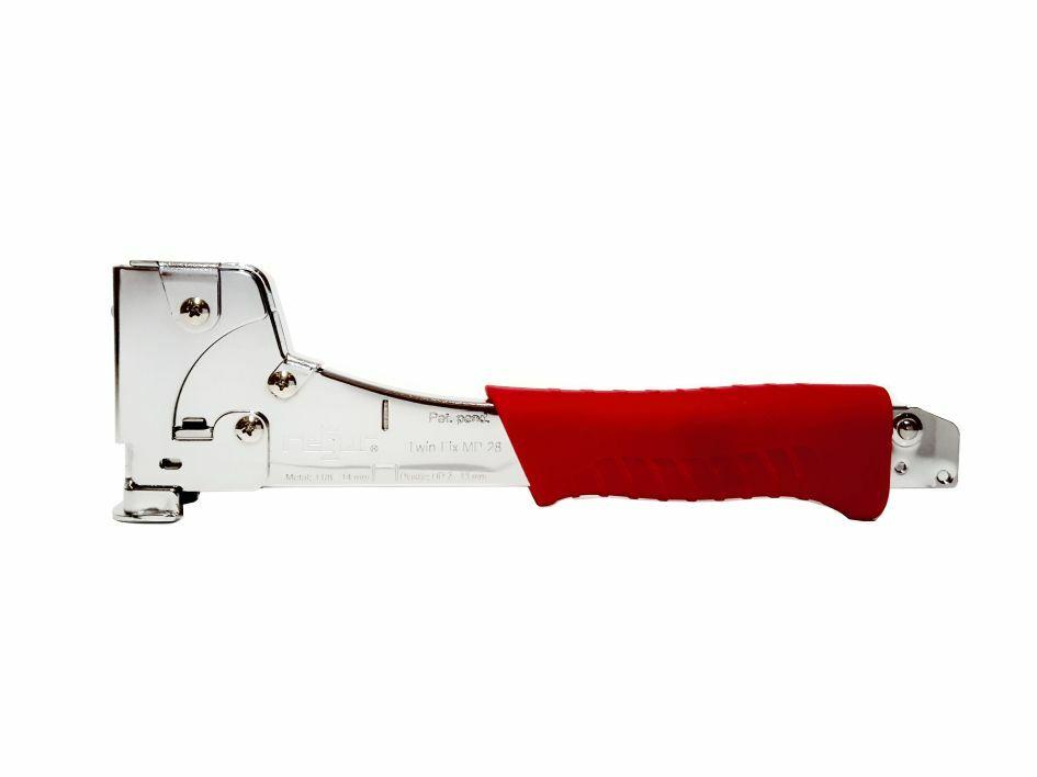 Hammertacker Regur MP-28 TwinFix für Metall und Kunststoffklammern