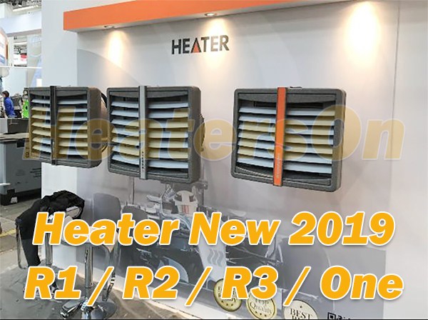 Новый New 2019 Heater R1, R2, R3, One