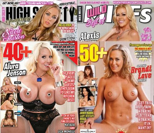 Adult magazine promotion