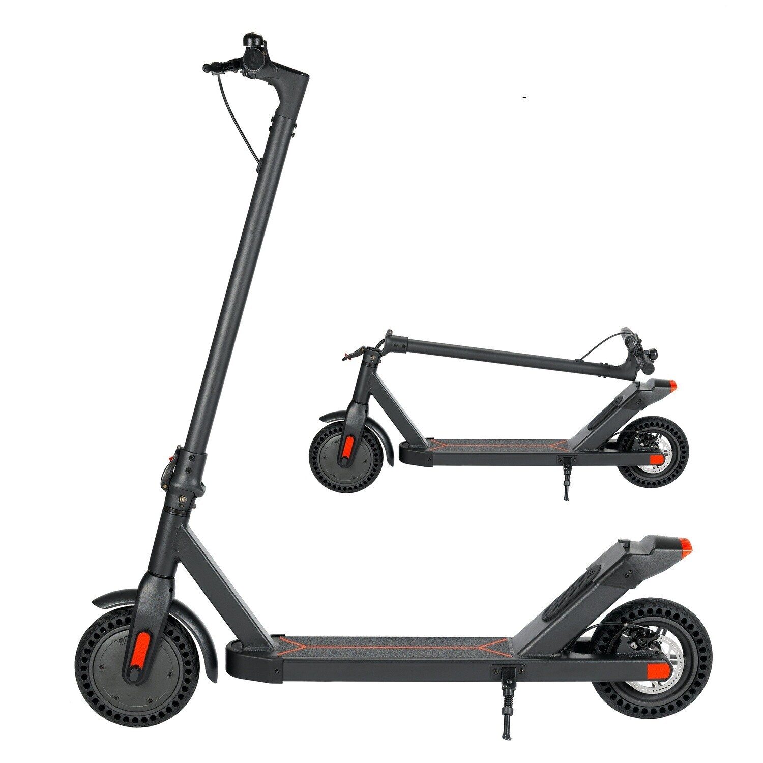 The beautiful L9 Folding Electrical Scooter with solid Tyres