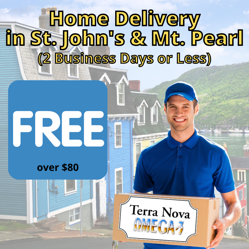 Free delivery in St. John's and Mount Pearl
