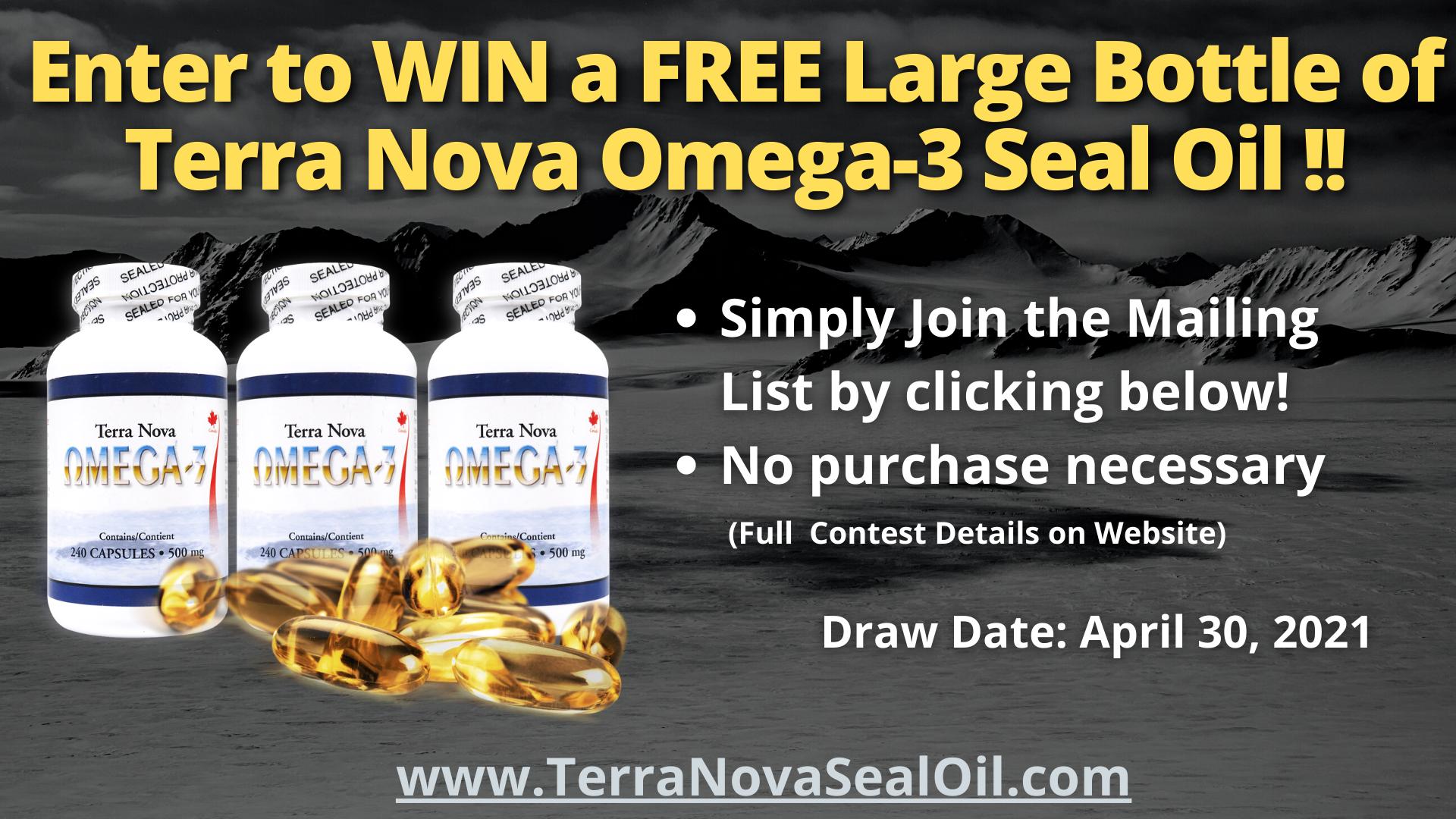 Newsletter Contest terranovasealoil.com