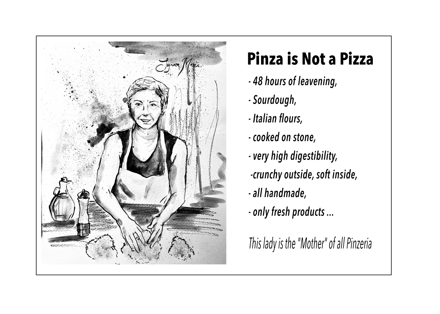 pinza is Not a Pizza !!!