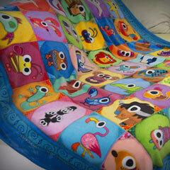 Patchwork Pals blanket