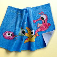 Patchwork Pals towel