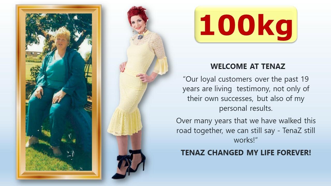 Sanet Mc Adam, known as Fat Fairy @ TenaZ, lost 100kg