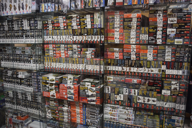 Boutique Maquettes Le Drakkar 50480 Sainte Mère Église 02 33 40 28 20