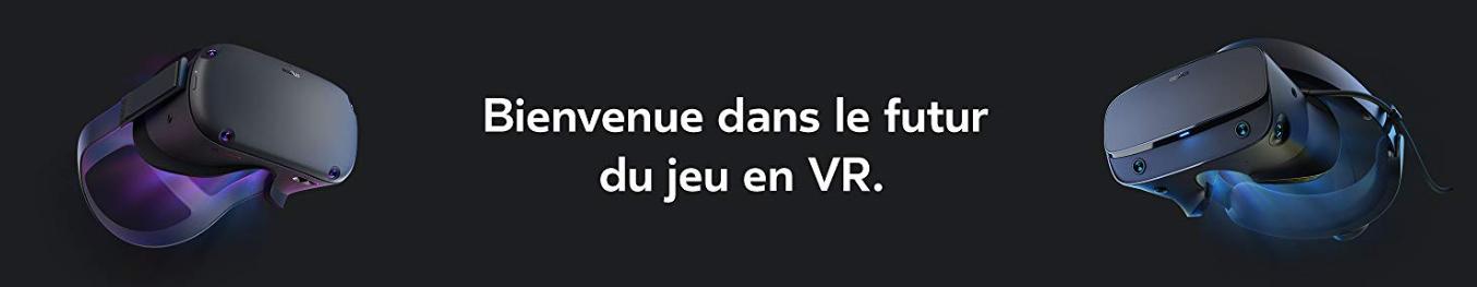 Casque réalité virtuelle - Oculus