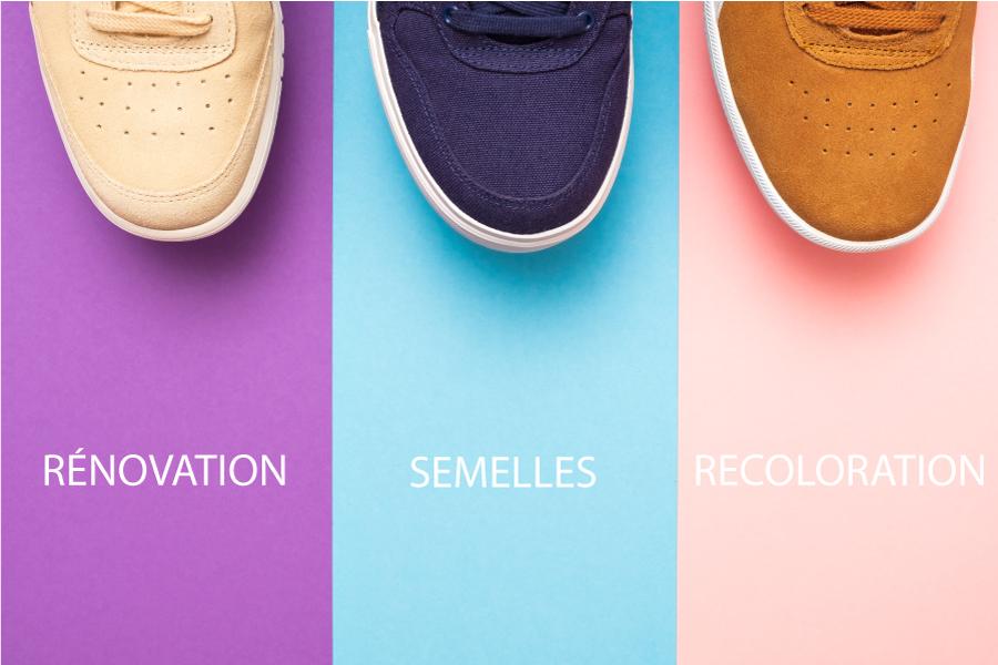 rénovation sneakers