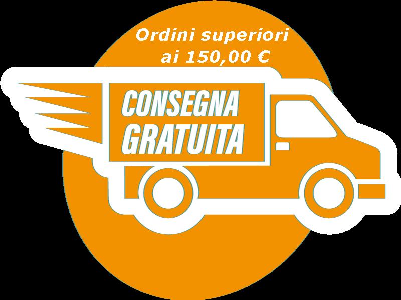 Spedizioni gratuite per ordini superiori ai 150 €