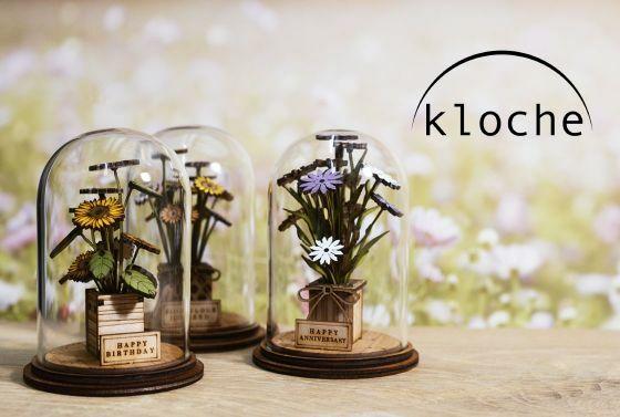 Kloche Wooden Miniature Dome Ornaments
