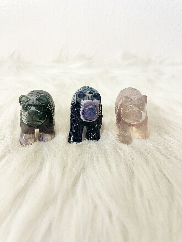 Fluorite Bears
