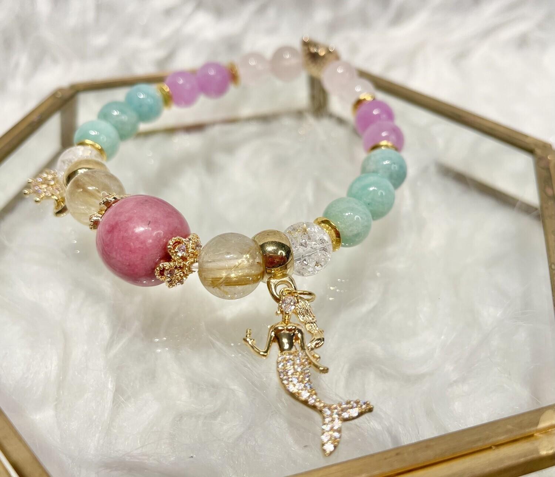 Mermaid Kunzite Bracelet