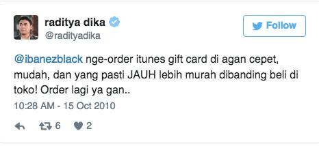 @ibanezblack nge-order itunes gift card di agan cepet, mudah, dan yang pasti JAUH lebih murah dibanding beli di toko! Order lagi ya gan..
