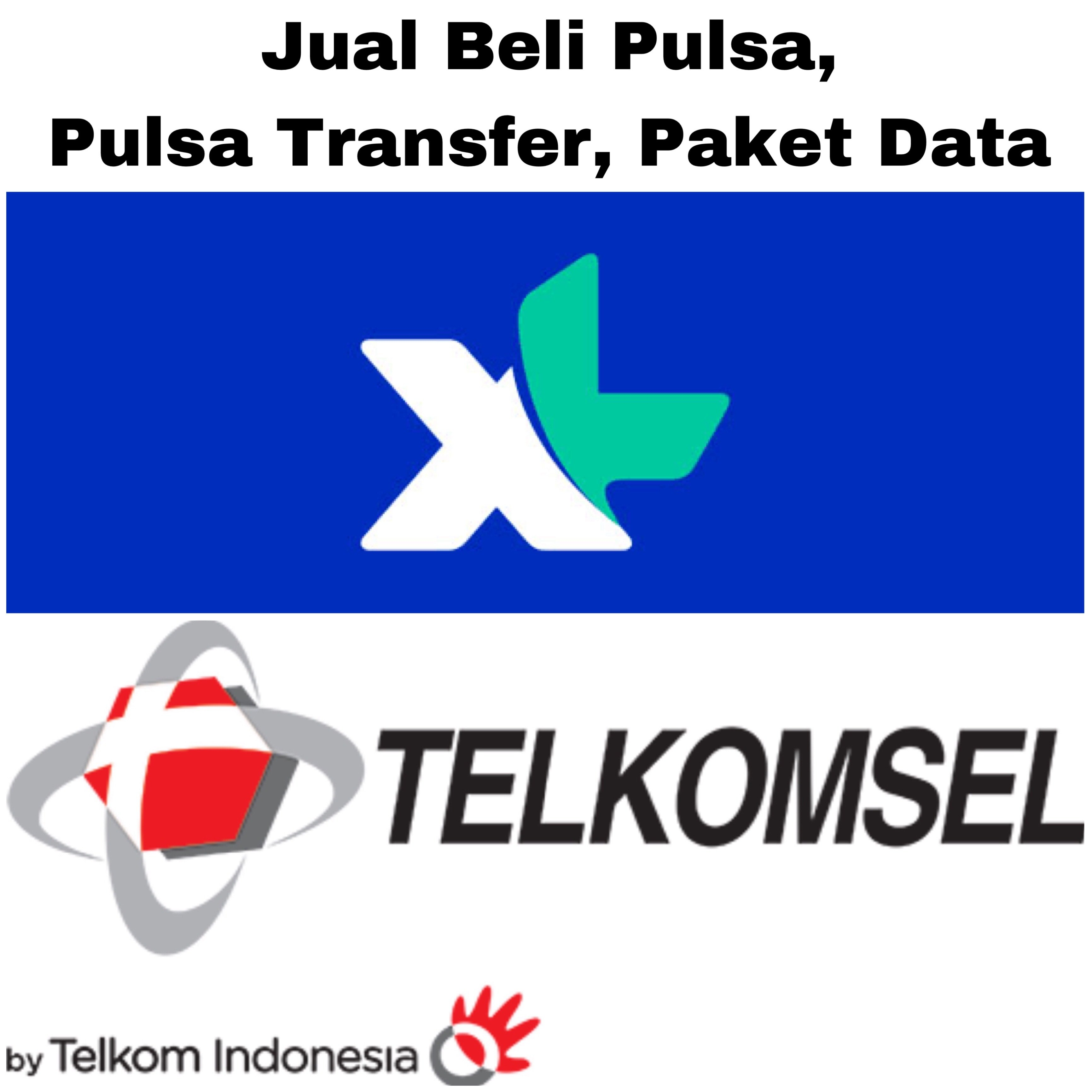 Jual Beli Pulsa, Paket Data XL, Telkomsel