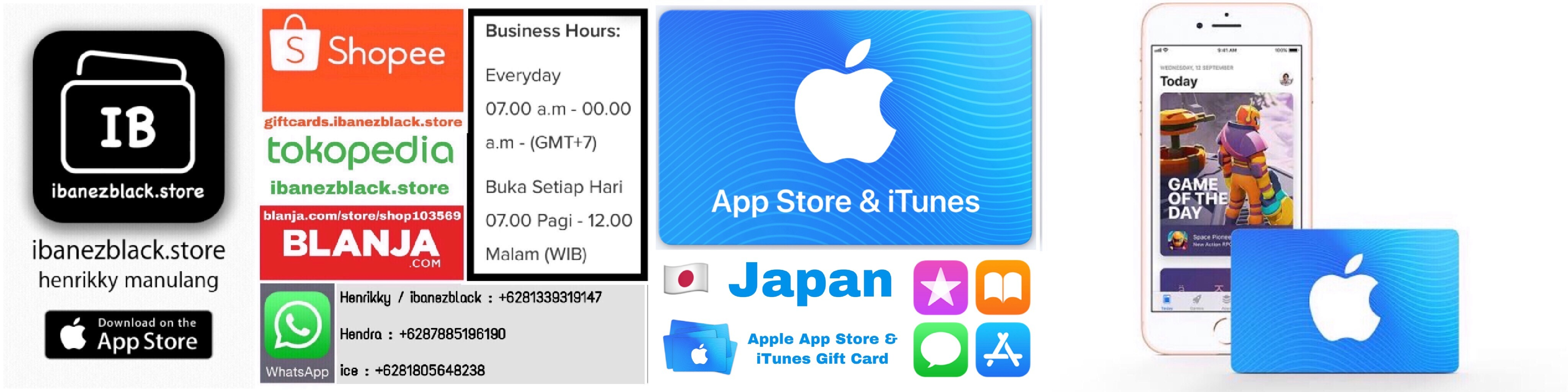 Apple App Store & iTunes Gift Card Japan