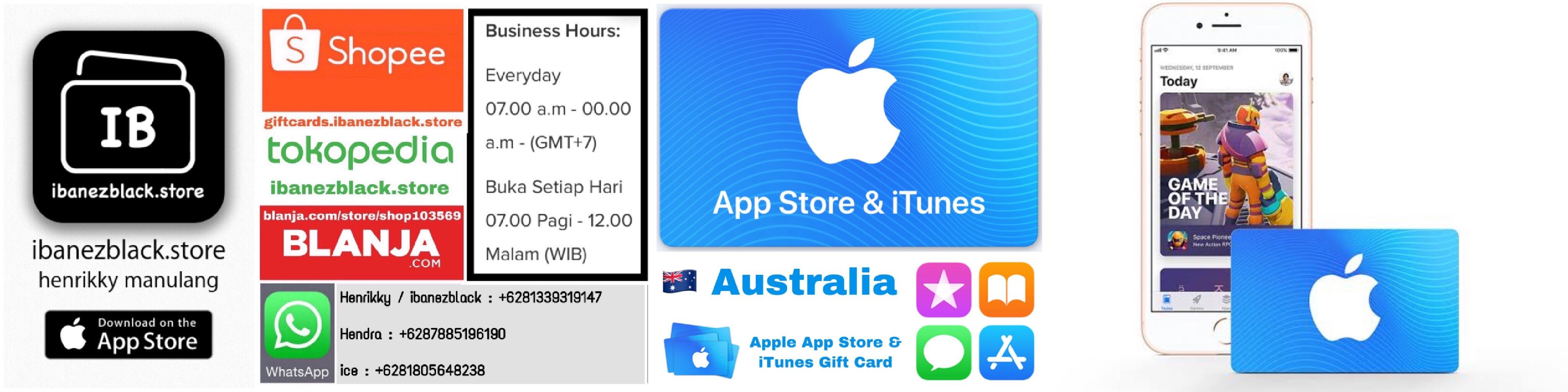 Apple App Store & iTunes Gift Card Australia