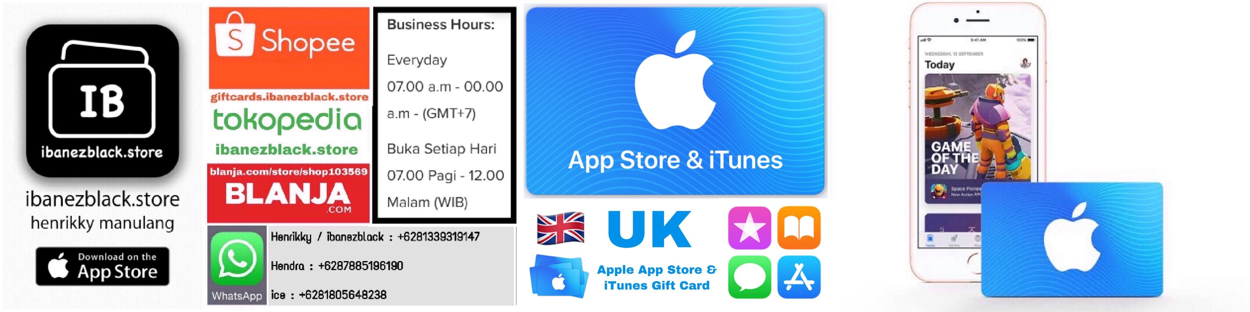 Apple App Store & iTunes Gift Card UK