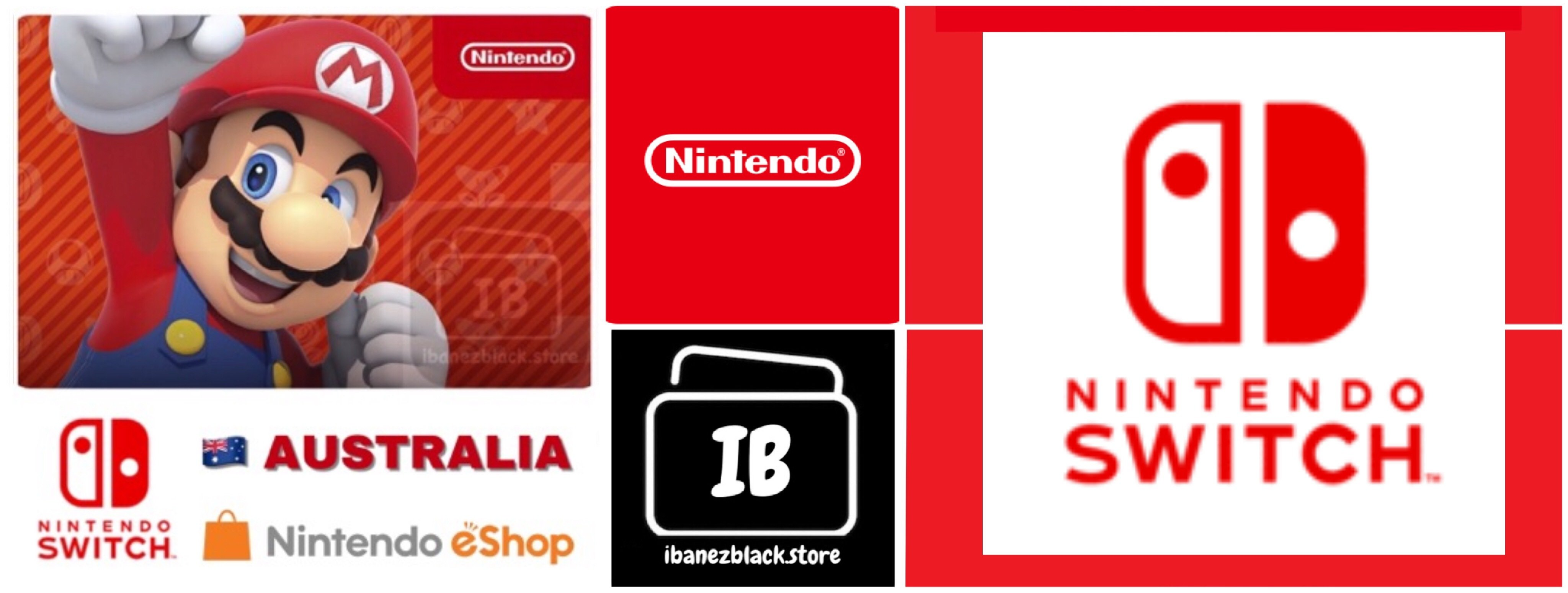 Nintendo eShop Card Australia - Switch / Wii U / 3DS
