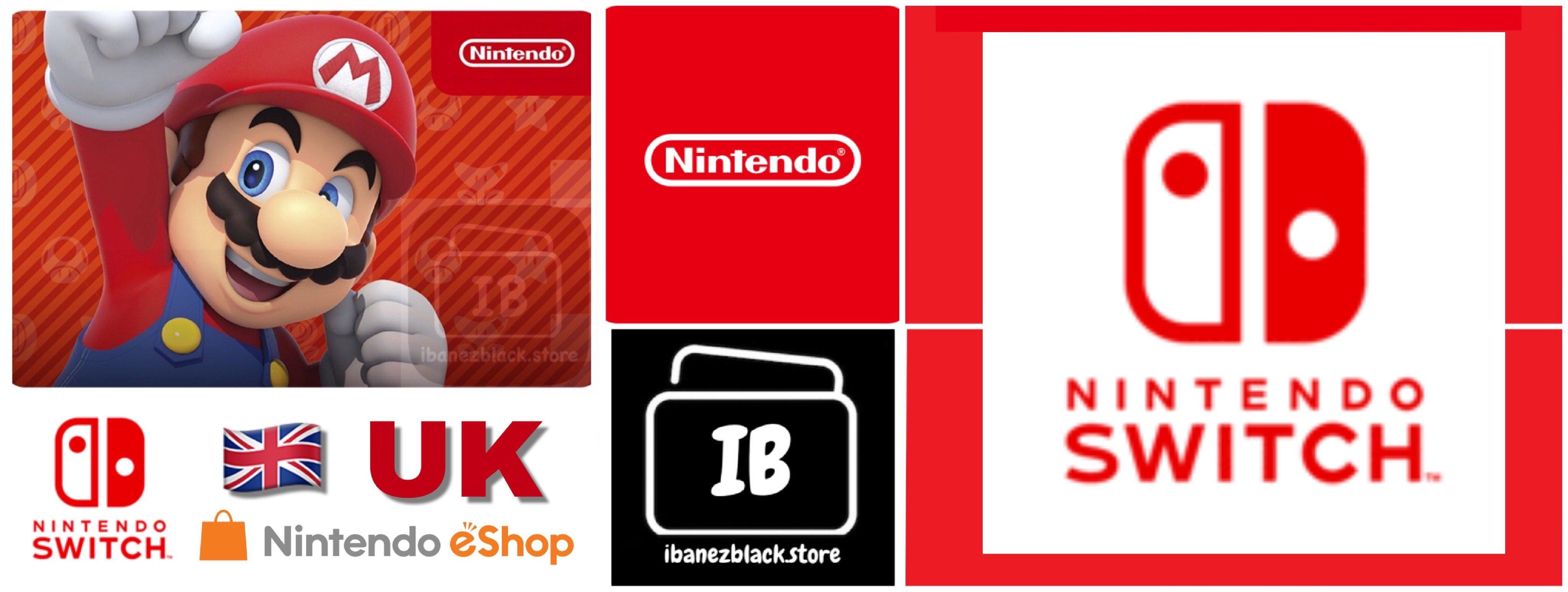 Nintendo eShop Card UK - Switch / Wii U / 3DS