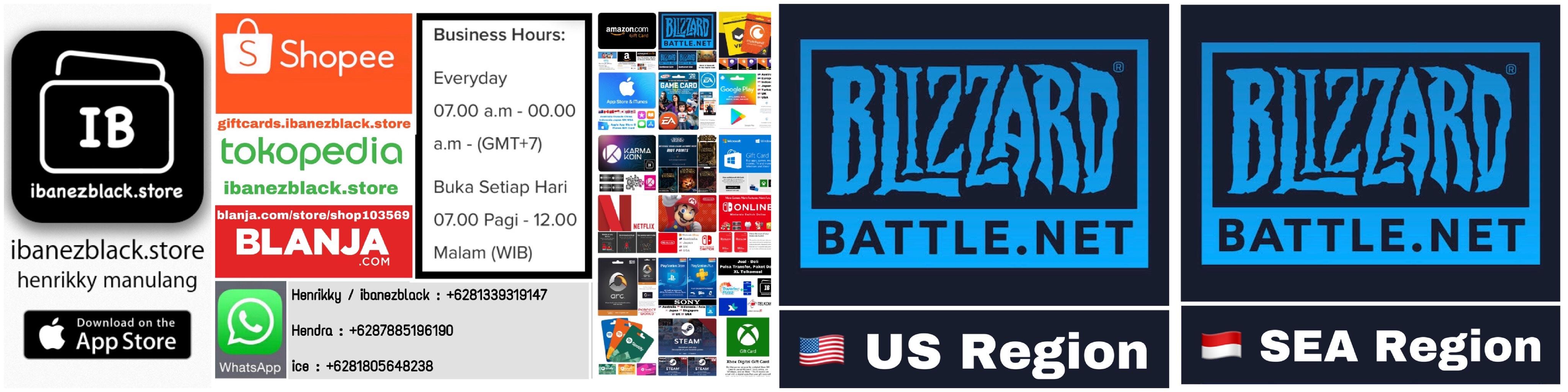 Blizzard Entertainment, Battle.net Store Gift Card, World of Warcraft