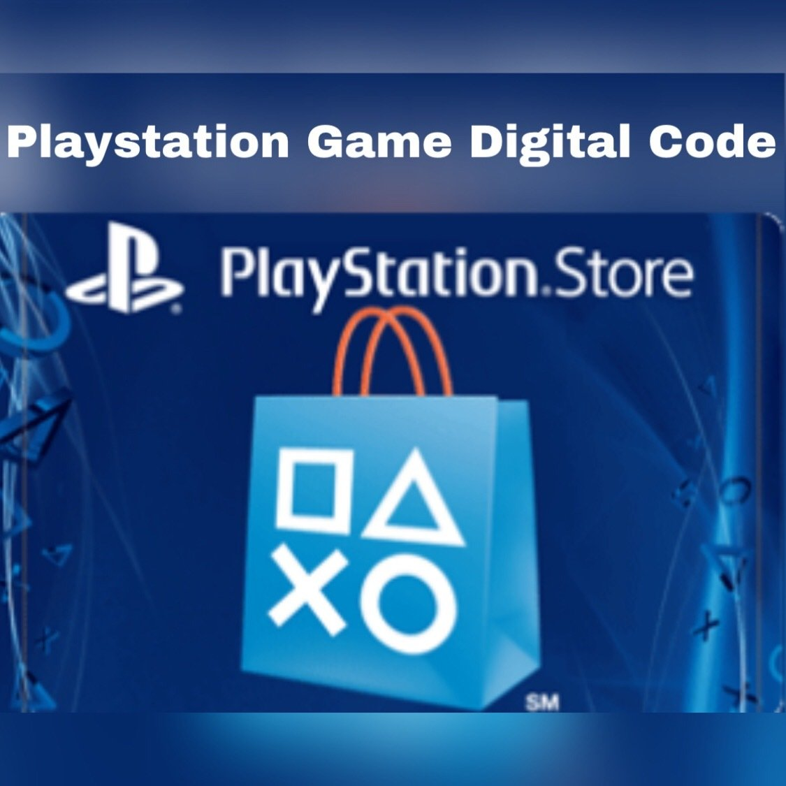 Playstation Game Digital Code