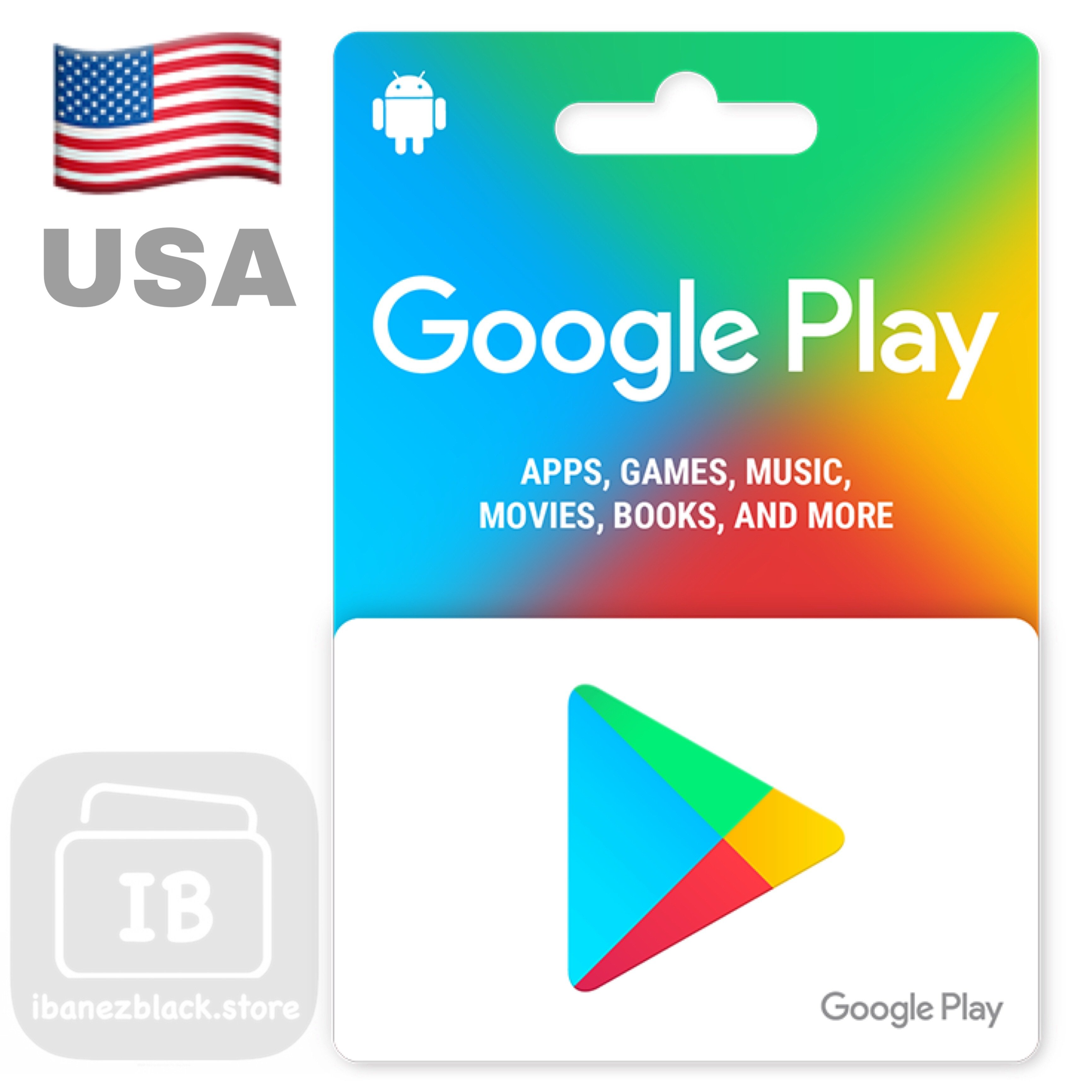 Google Play Gift Card Us Ibanezblack Voucher Lyto Gameon 35k 10 100