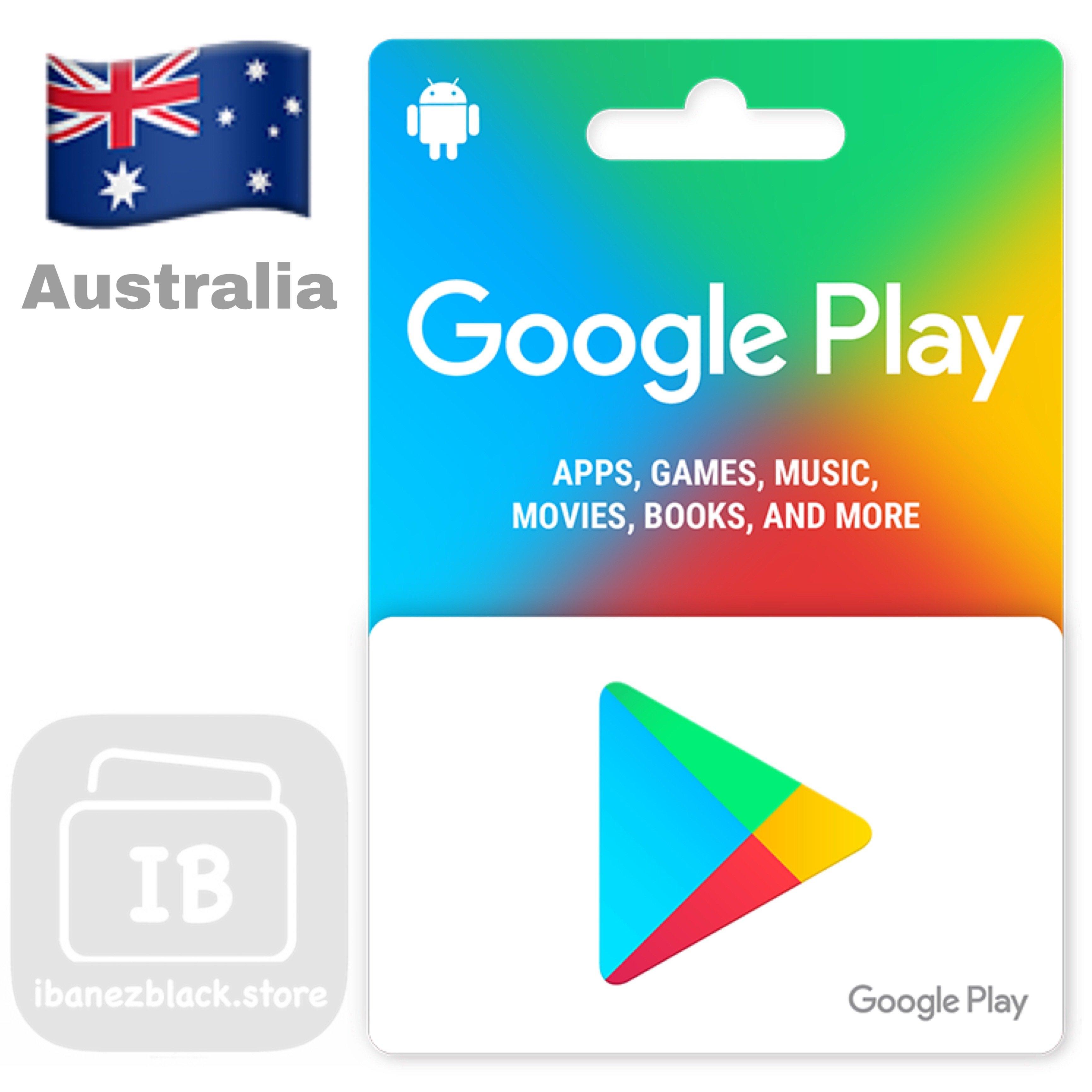 Google Play Gift Card Australia
