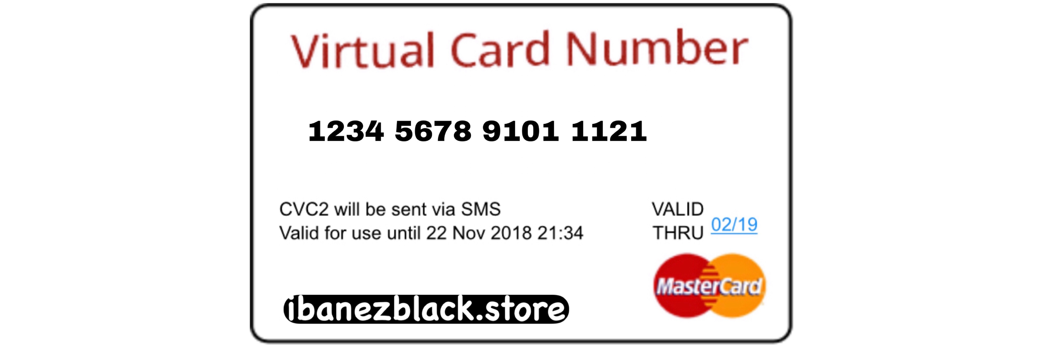 VCC (Virtual Credit Card) Apple ID Indonesia