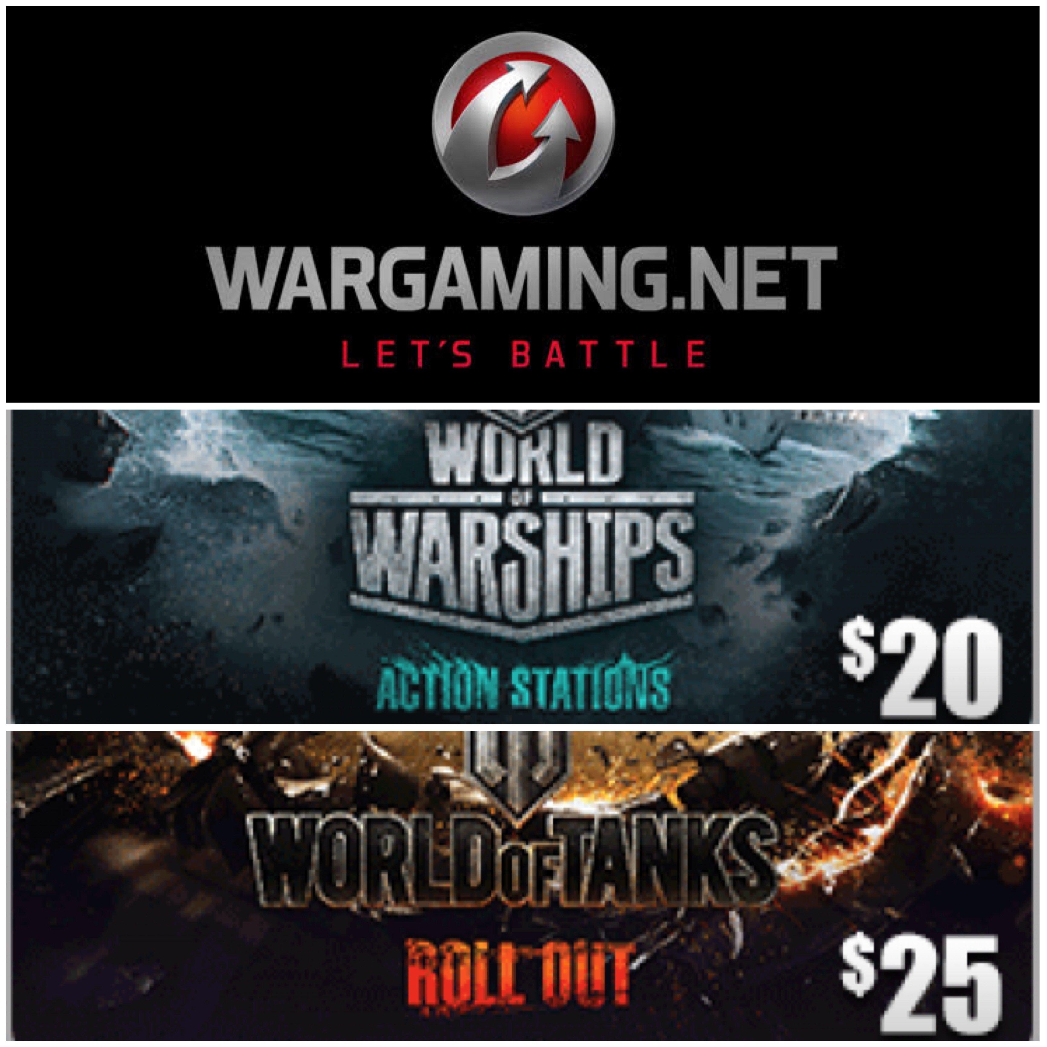 Wargaming.net Gift Card