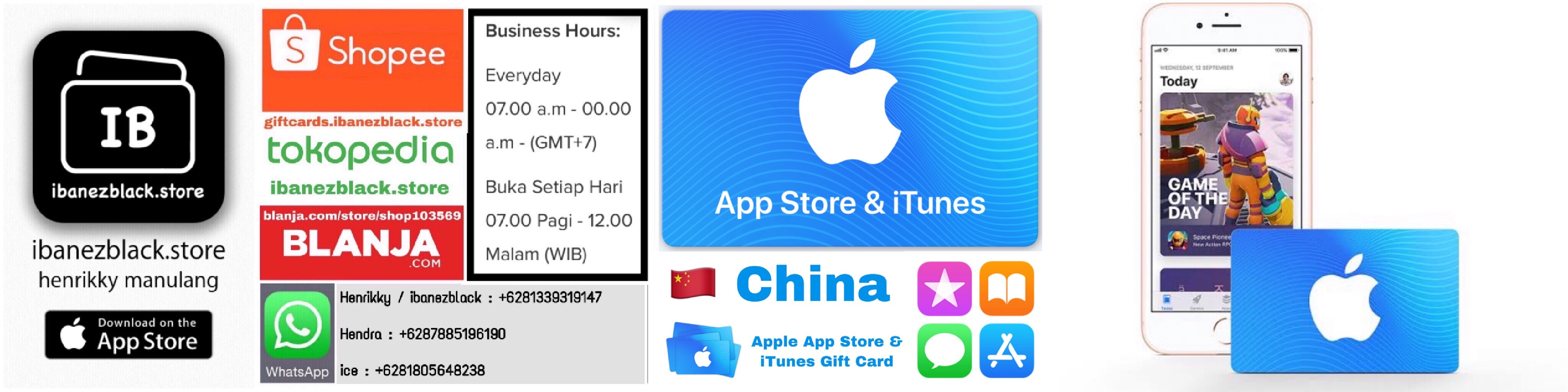 Apple App Store & iTunes Gift Card China