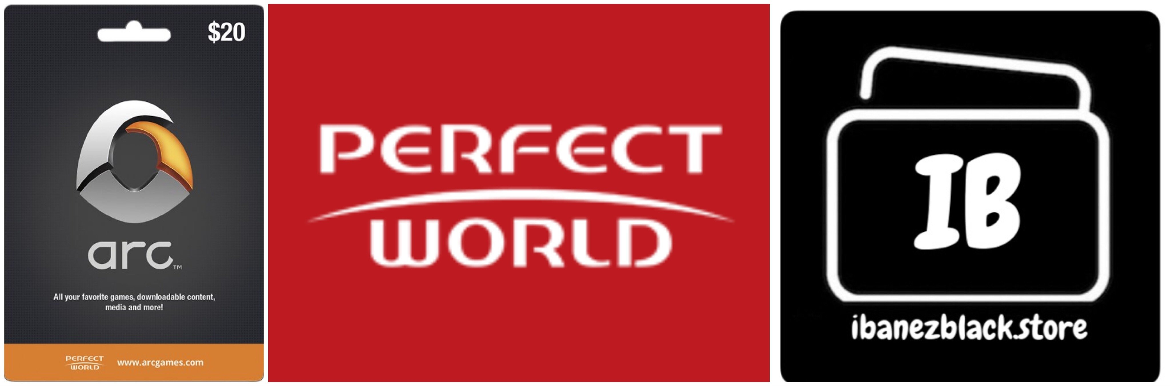 Perfect World Entertainment Gift Card $20