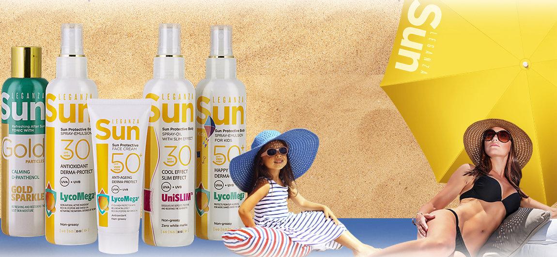 Защита от солнца Leganza Sun