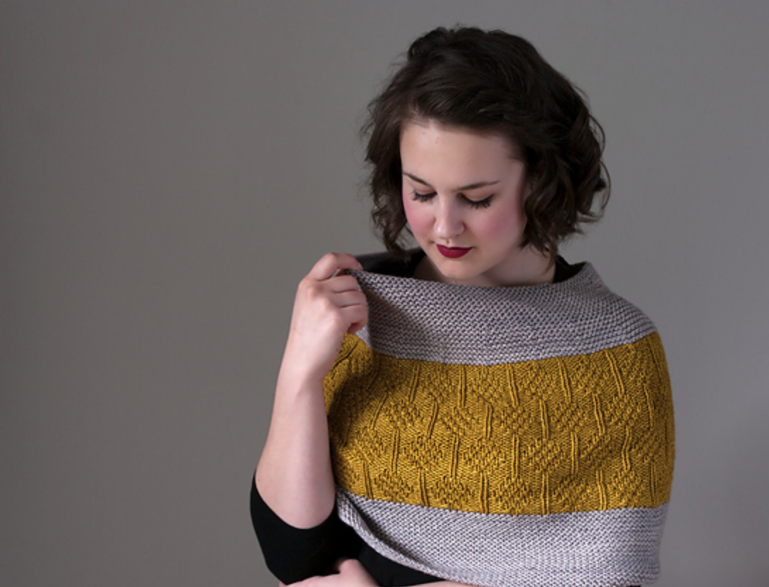 Sagebrush Cowl Pattern by Knox Mountain Knit Co.
