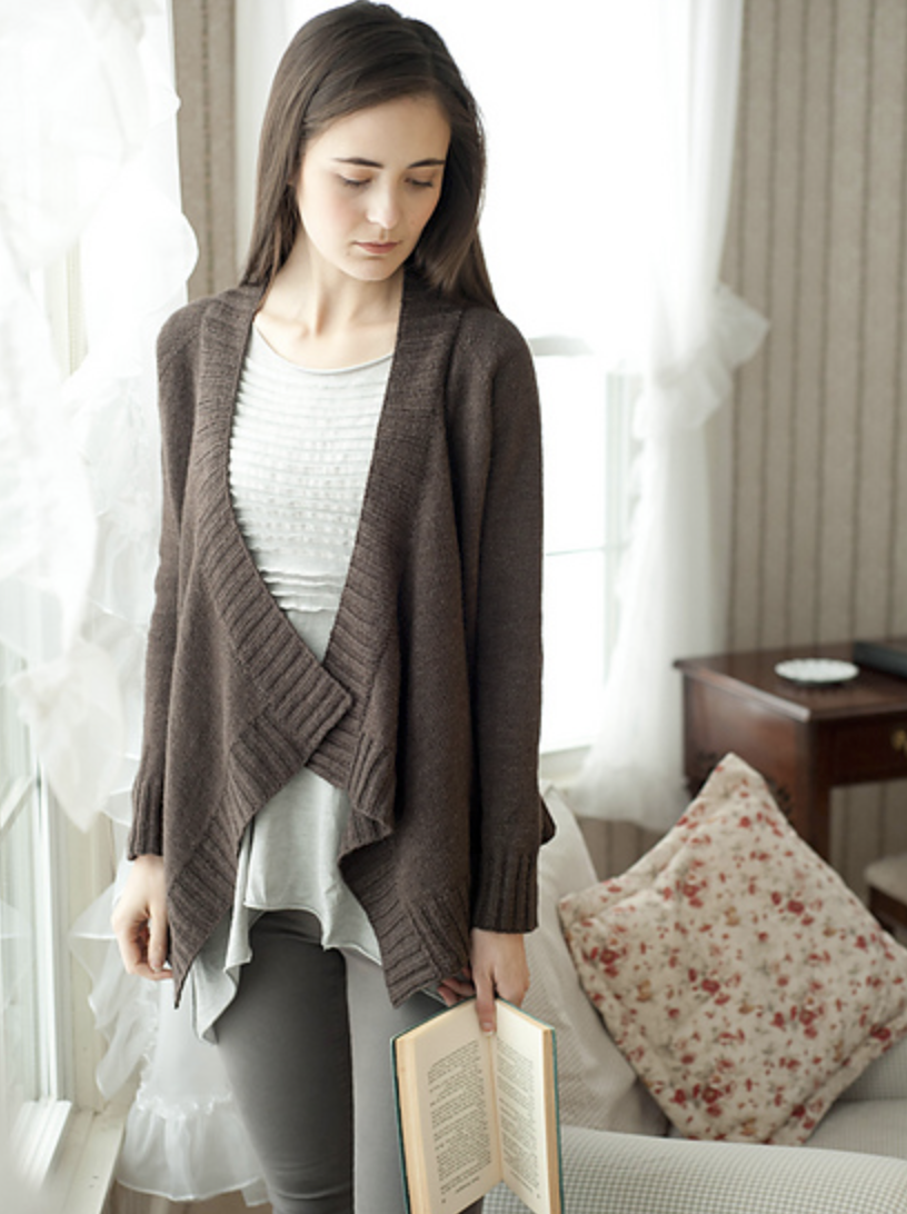 Breezy Cardigan Pattern By Hannah Fettig