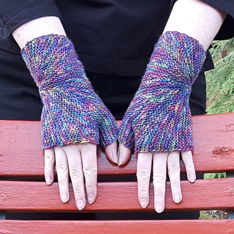 Color Exploraion Mitts Patten by Sybil R