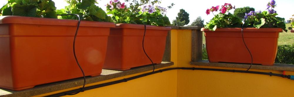 Beautiful Impianto Irrigazione Terrazzo Contemporary - Idee per la ...