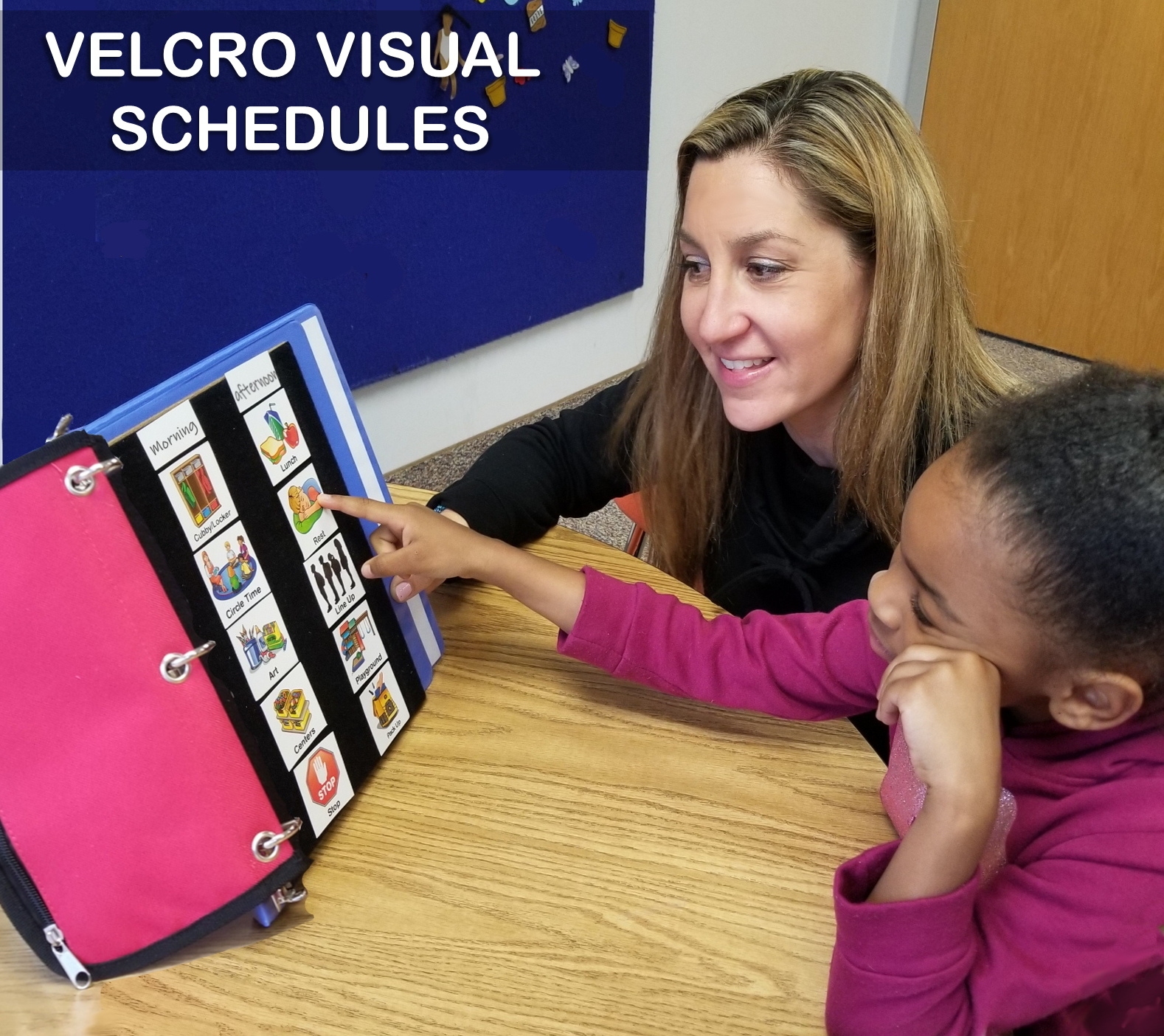 VELCRO VISUAL SCHEDULES
