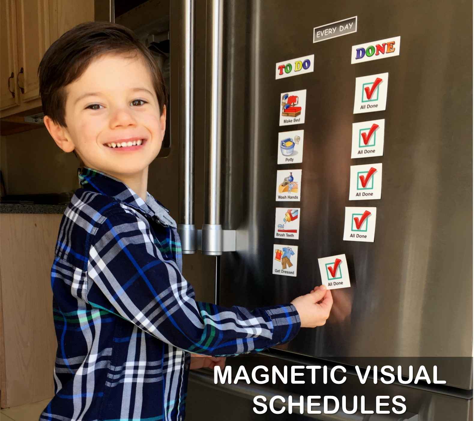 MAGNETIC VISUAL SCHEDULES