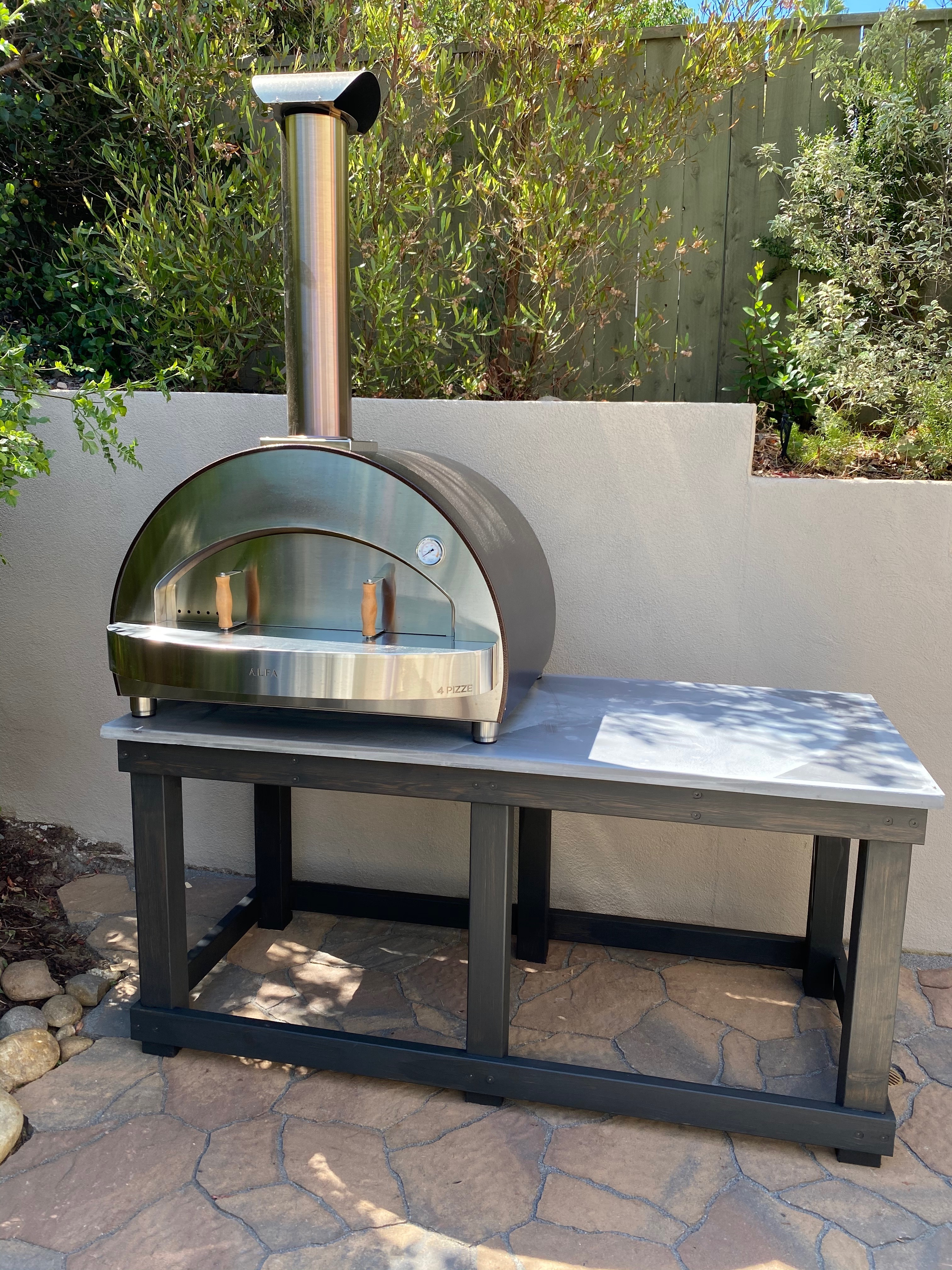 Alfa 5 Minuti Wood Fired Pizza Oven purchased from Chicago Outdoor Living
